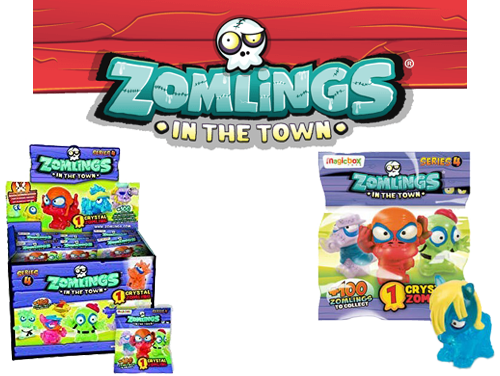 Zomlings 4 figurina